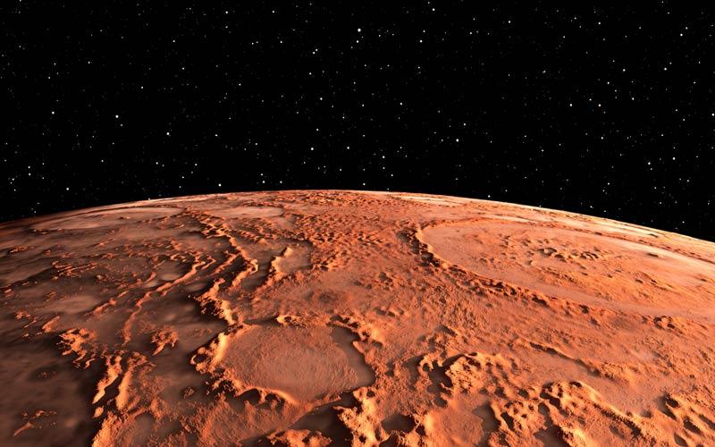 Mars u ribama