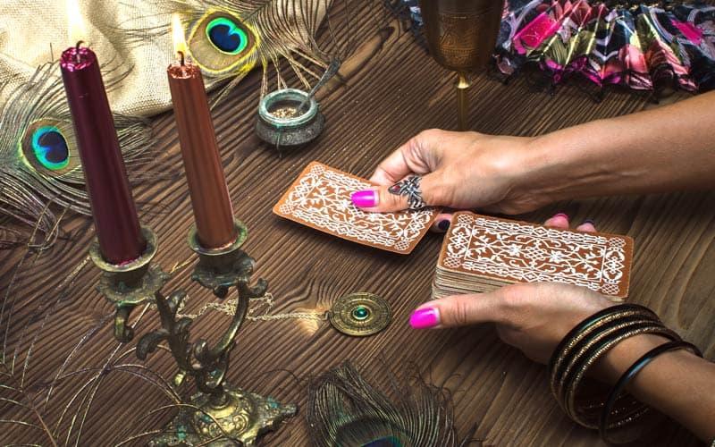 Tarot Karta - Petica Diskova