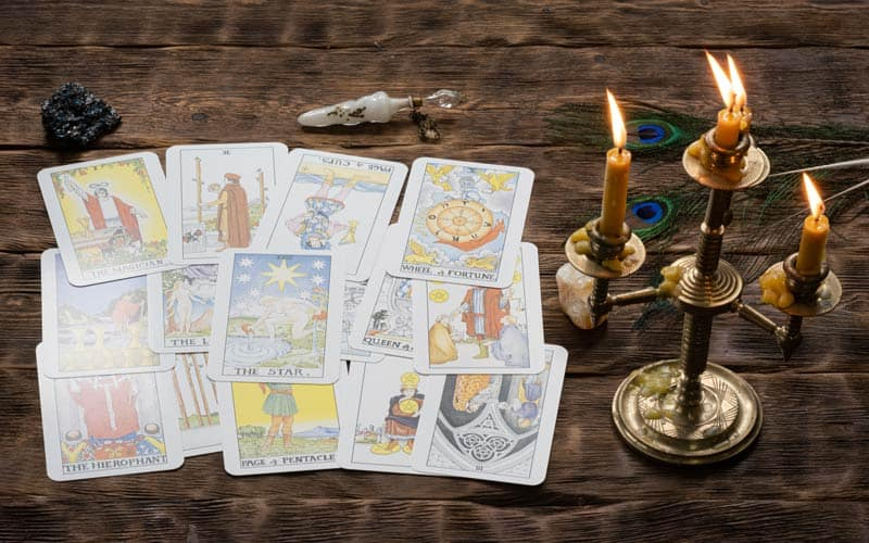 Tarot Karta – Vitez Diskova