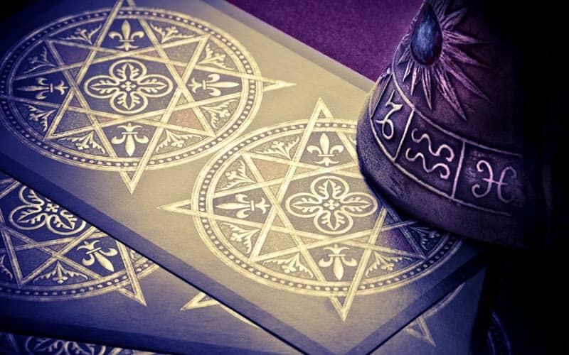Tarot Karta - Devetka Diskova